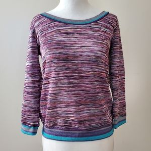 Free w/ purchase multicolored long sleeve